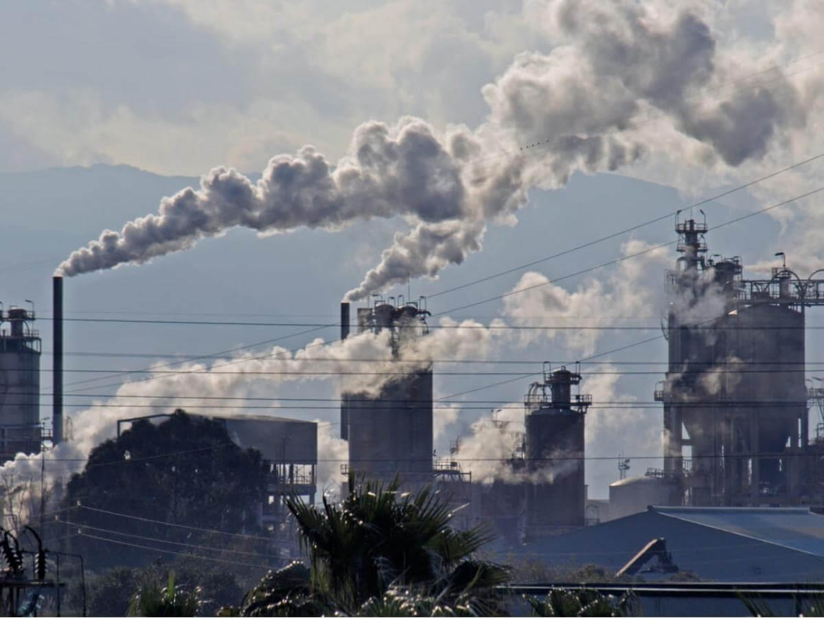 consecuencias de los gases de efecto invernadero.
